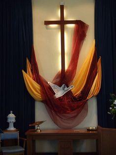 decoracion altar cuaresma - Buscar con Google