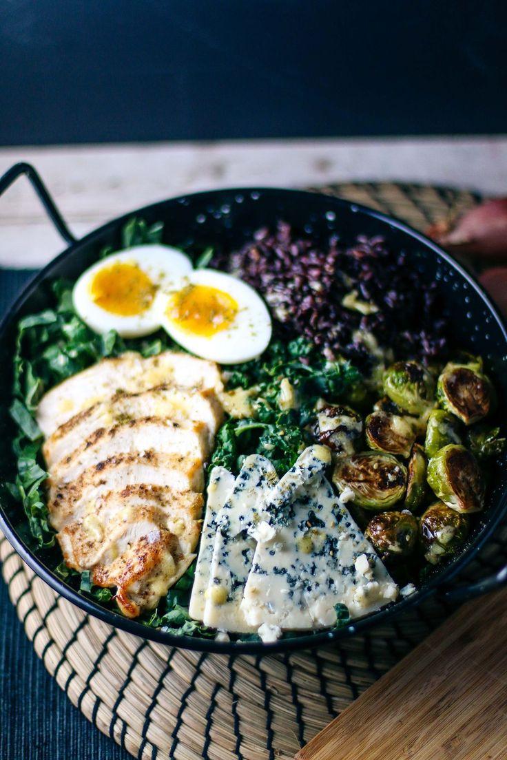 Winter Chicken & Kale Salad