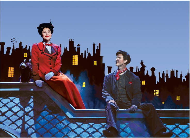 Mary Poppins On Broadway...I got to see this a few months ago and it was terrific!!