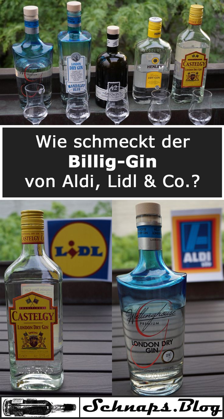 discounter gins im test aldi lidl penny und netto lecker oder billig getr nke. Black Bedroom Furniture Sets. Home Design Ideas