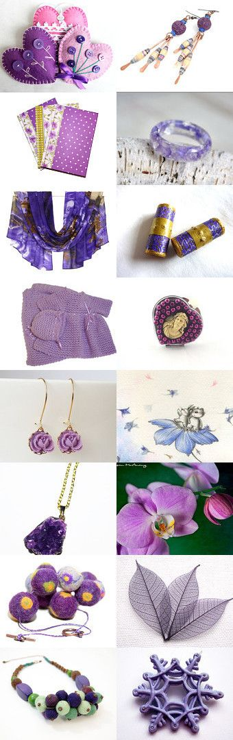 purple evening :) by Tatie on Etsy--Pinned with TreasuryPin.com