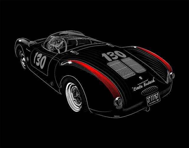Little Bastard Dean Porsche / David Cran