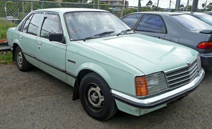 Had a VB Holden Commodore but factory blue