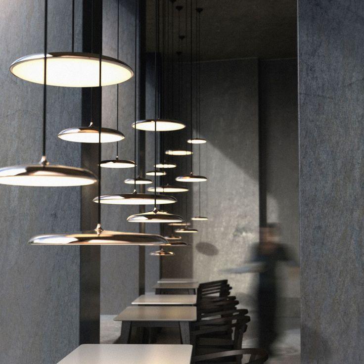 SKAPETZE -    Artist 40 / LED Pendelleuchte / Kupfer Innenleuchten Pendelleuchten