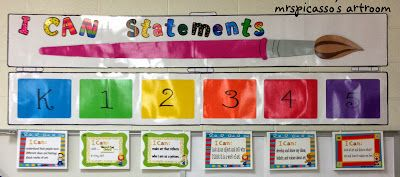 mrspicasso's art room: I Can Statements