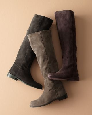 It's probably the year for me to get a straight-up riding boot, but I'm always drawn to a suede slouchy.
