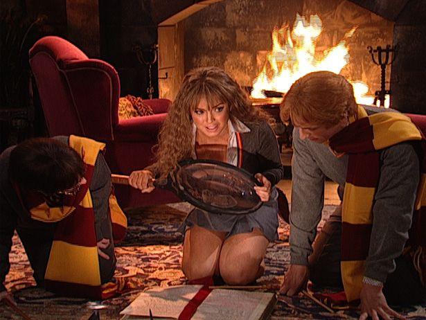 Hermione lindsay lohan Night Lindsay
