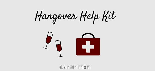 The latest podcast is out and we have Jim and Jess talking on ways to ring in the new year and end on a good note with their hangover help kit.