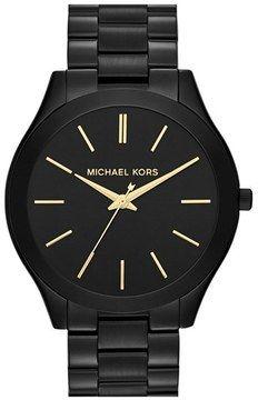 MICHAEL Michael Kors Michael Kors 'Slim Runway' Bracelet Watch
