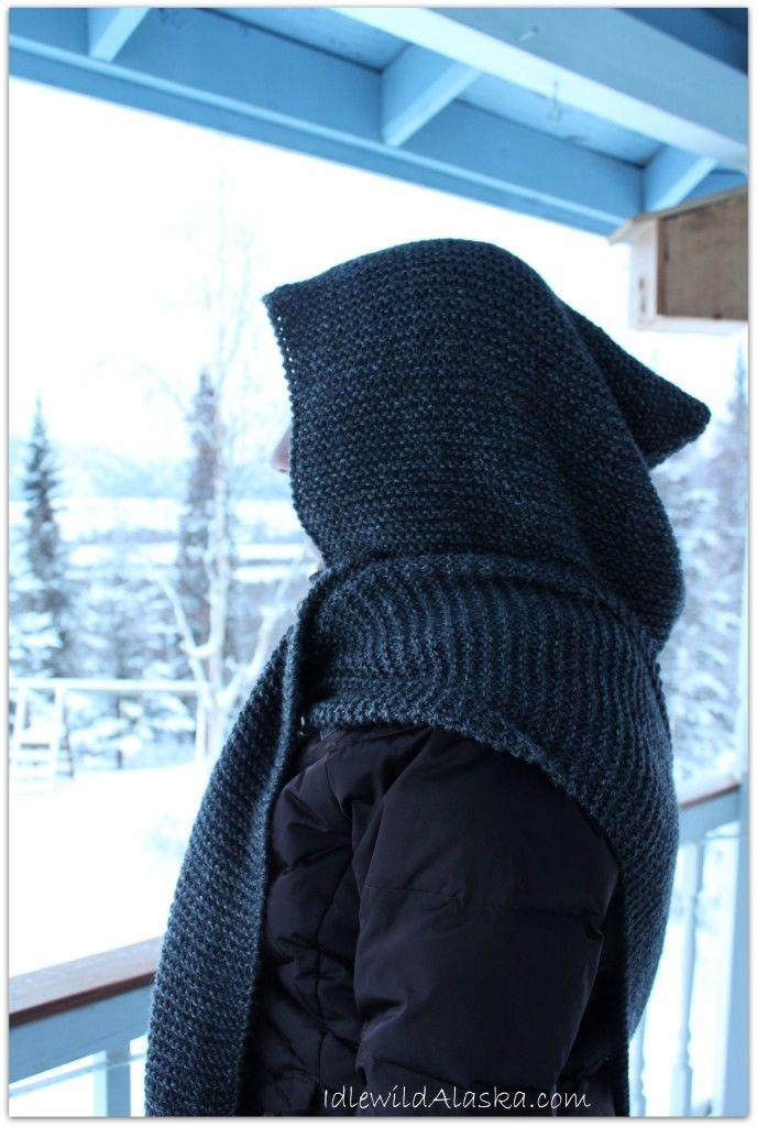 Hooded Scarf Knit Pattern : 25+ best ideas about Hooded Scarf on Pinterest Crochet hooded scarf, Free k...