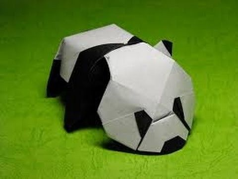 The Art of Paper Folding - How to Make an Origami paper Panda