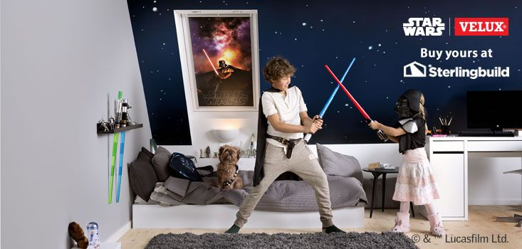 Star Wars & VELUX Galactic Night Collection at Sterlingbuild: 4710 Darth Vader http://ow.ly/VXIMx