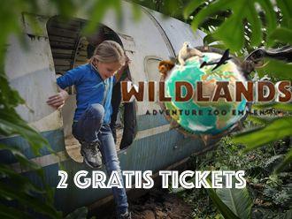 Wildlands Actie: 2 gratis tickets! Boek een week in onze vakantiewoning en ontvang 2 tickets voor Wildlands Adventure Zoo in Emmen.
