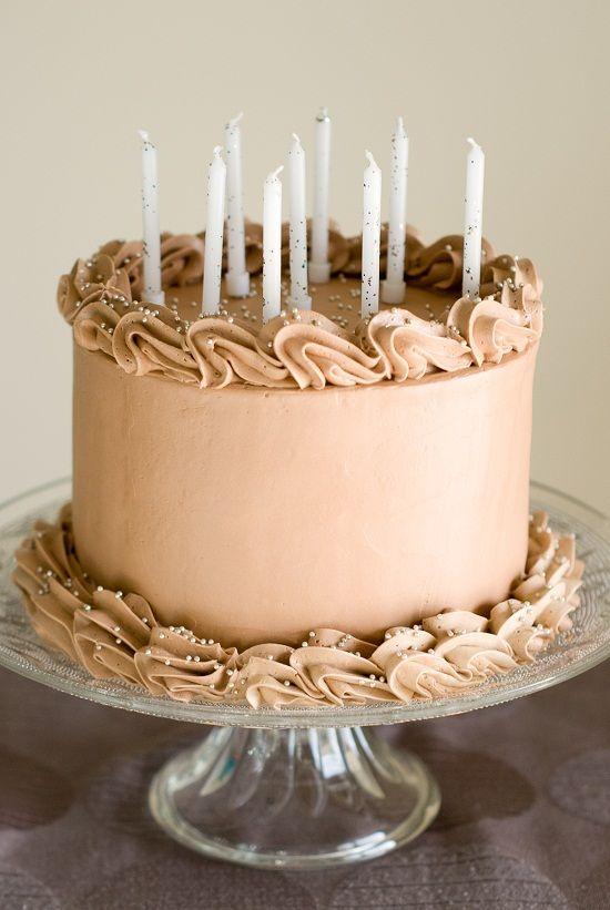 Mon {Beau} Gâteau d'Anniversaire au Chocolat