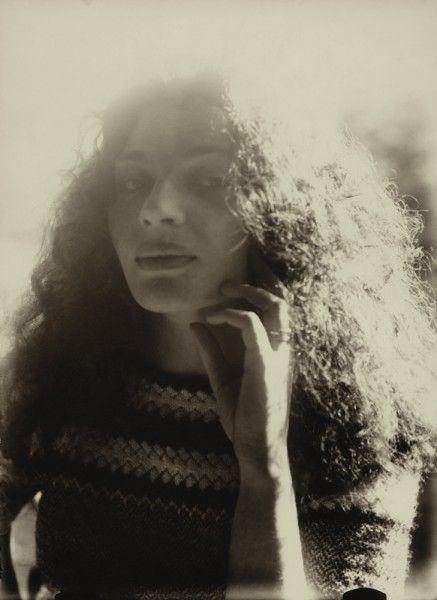 Portret Jadwigi Witkiewiczowej, Zakopane, ok. 1923 r. 'Całuję Cię bardzo długo aż do zupełnego zmęczenia (tzn. koło 20-22 sekund) w Twoje śliczne usta.'