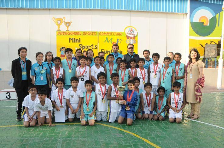 Boys Basketball team of IHS Junior Junior School Mini
