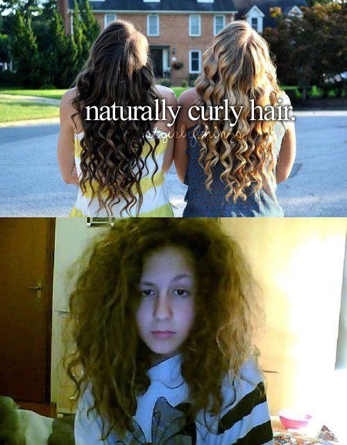 """""""How come it looks different from like…TV curly hair?""""   26 Things People With Curly Hair Are Tired Of Hearing"""