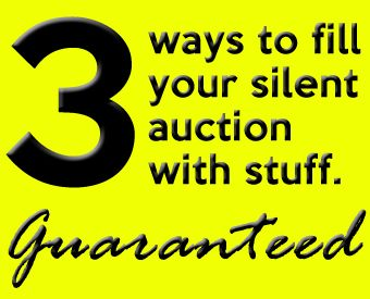 One of the most challenging things about setting up a silent auction is finding the items to fill the auction. But with proper planning throughout the organizing process, even this can be a breeze. First and foremost, you'll need to