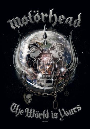 Drapeau MOTORHEAD - The World Is Yours