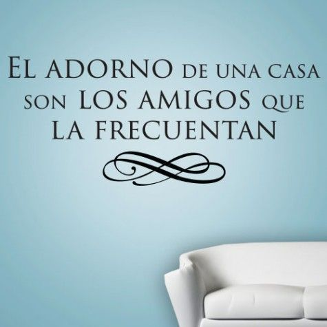 This Decorative Wall Graphic Is The Perfect Addition To Any Living Room Bedroom Or Other Space In Your Home El Adorno De Una C