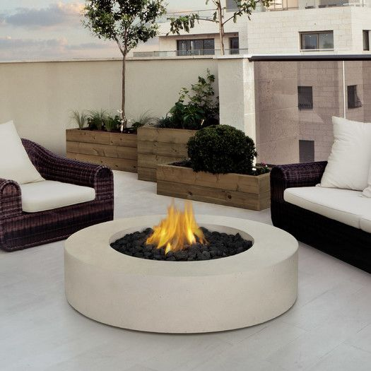 Shop AllModern for Outdoor Fireplaces for the best selection in modern design.  Free shipping on all orders over $49.