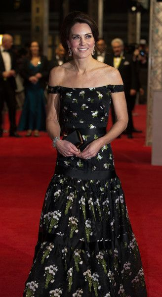 Kate Middleton Photos Photos - Britain's Catherine, Duchess of Cambridge arrives to attend the BAFTA British Academy Film Awards at the Royal Albert Hall in London on February 12, 2017...The British Academy of Film and Television Arts supports, develops and promotes the art forms of the moving image by identifying and rewarding excellence, inspiring practitioners and benefiting the public. / AFP / POOL AND AFP / Daniel LEAL-OLIVAS - EE British Academy Film Awards - Winners Room