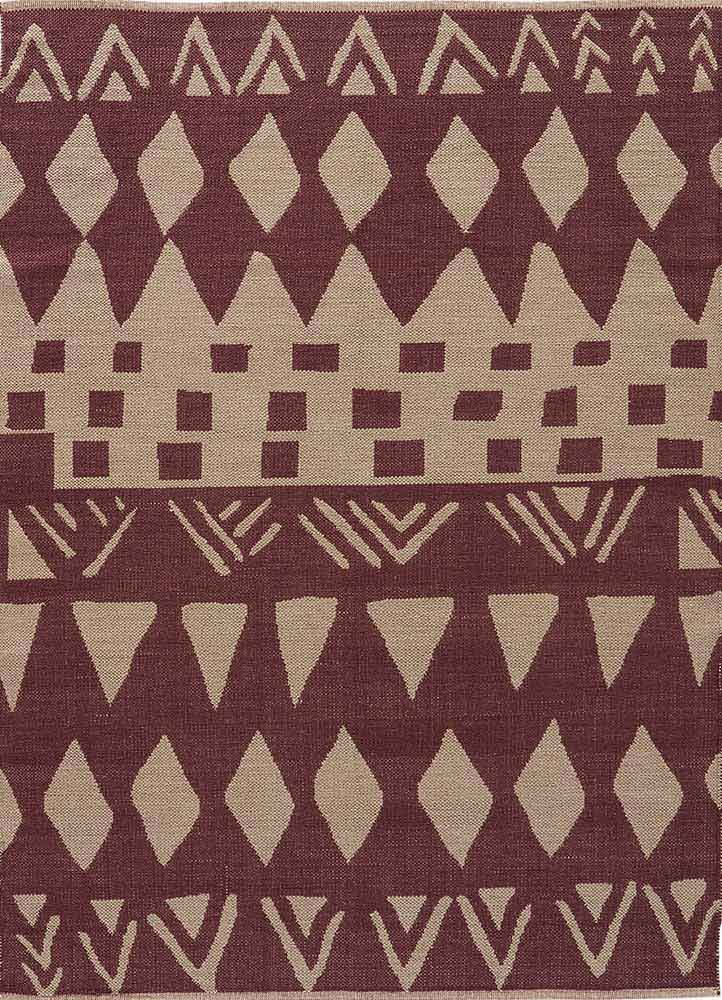 NGC07 - Dance to a tribal beat: Tiebele, the newest addition to the National Geographic Home Collection, is inspired by African paintings and motifs. In sophisticated neutral shades of Huckleberry and Abby Stone, the rhythmic pattern makes for a timeless flat-weave that is durable, reversible and completely natural in 100 percent cotton.