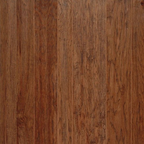Hickory Prefinished Engineered Hand Scraped Hardwood Flooring By Harris Wood.  Finish Shown: Bridle Www