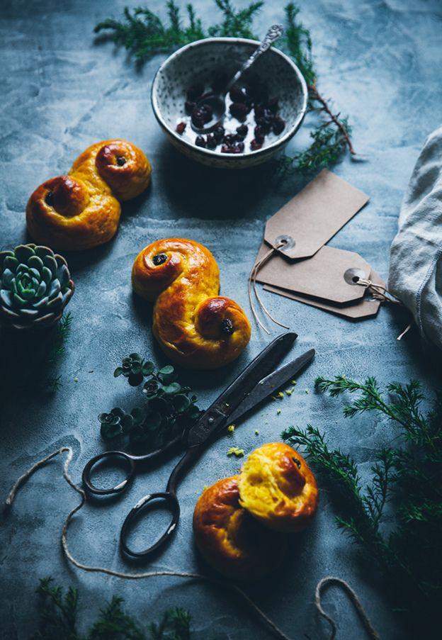 Lussekatter Recipe (Swedish Saffron Buns)