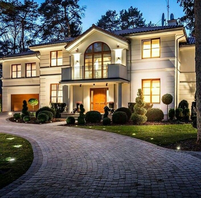 Dream home luxury home dream home grand mansion for Beautiful rich houses