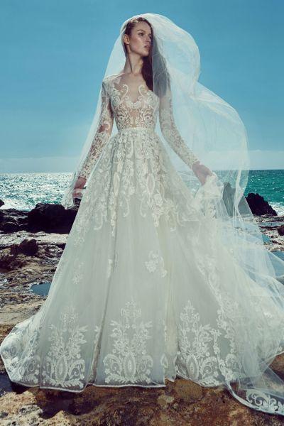 Vestidos de novia para mujeres delgadas 2017: ¡30 diseños espectaculares! Image: 25