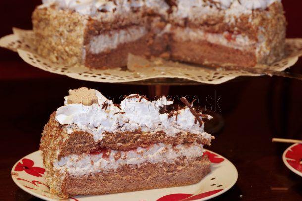 Gaštanová torta bez múky a cukru