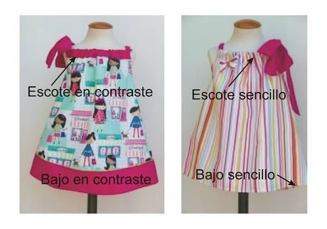 Cómo hacer un  vestido niña pillowcase con patrón pdf gratis