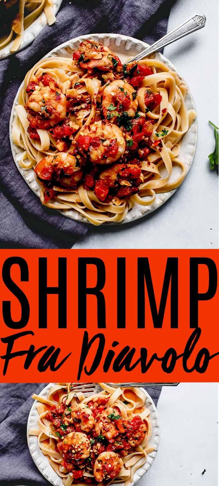 Shrimp Fra Diavolo Yummy Pasta Recipes Easy Seafood Recipes Shellfish Recipes