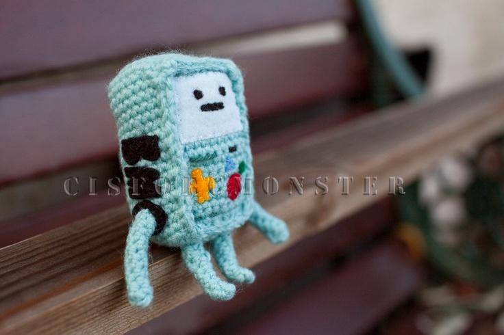 Amigurumi Beemo : PDF Crochet Amigurumi Pattern for Beemo from Adventure ...