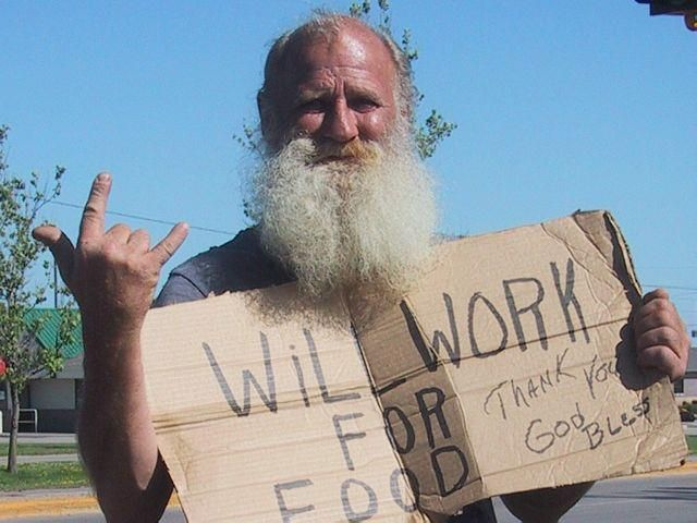 A Christian man who has roamed the U.S., not only working for food, but to make money to buy bibles to give to others! Amazing!