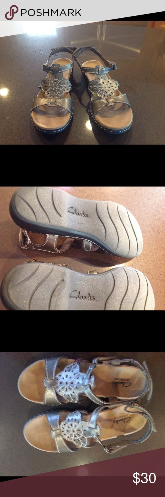 Clark shoe Used and mint condition. The size is 8.5 N. I am selling because it's small for me. Clark Shoes Sandals