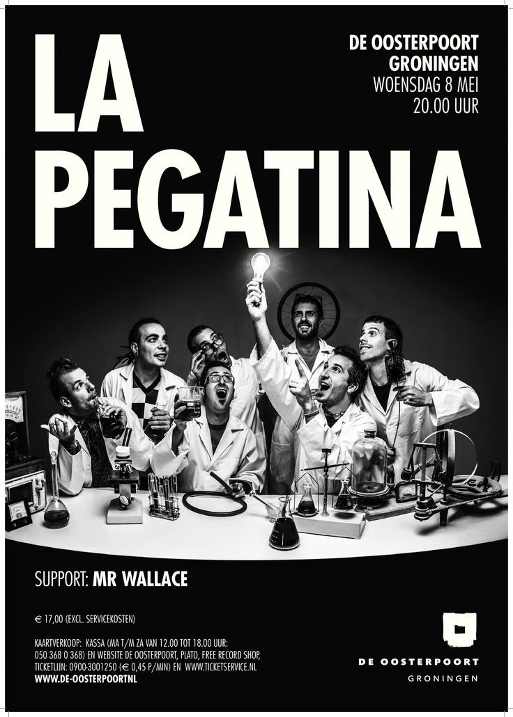 La Pegatina speelt een high energy mix van rumba catalana met hier en daar een vleugje ska en cumbia. http://www.lapegatina.com