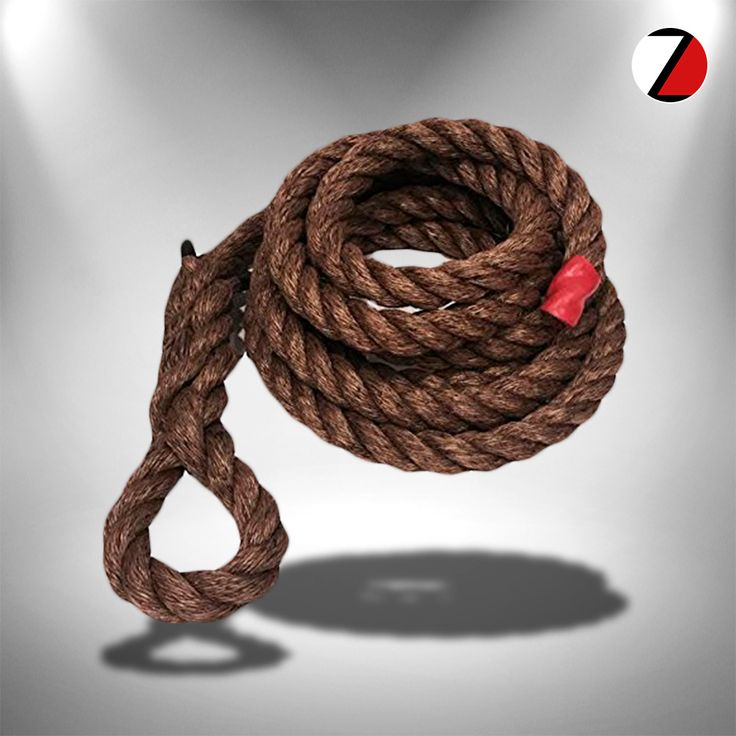 FOR YOUR BOX: 1.5″ MANILA GYM CLIMBING ROPE