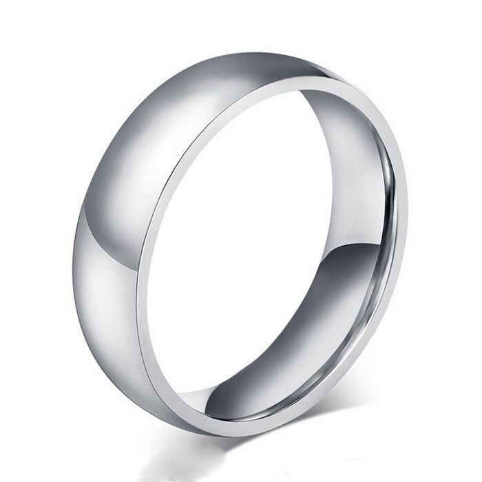 ORSA High Quality Titanium Steel Rings for Men&Women Simple Design Fashion Jewelry Wholesale Price OTR36