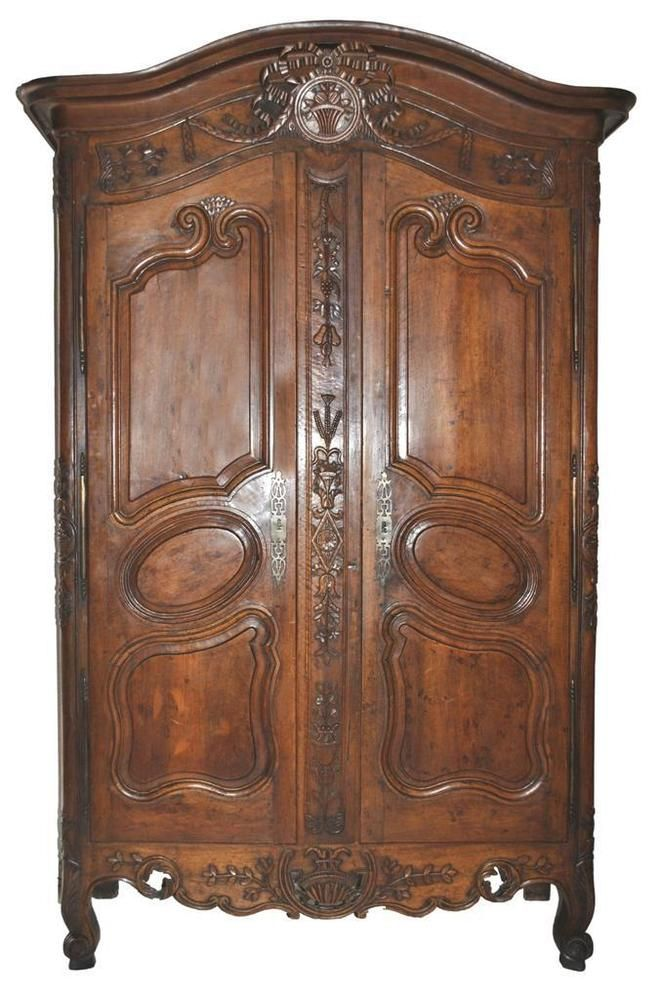 Armoire provençale époque XVIIIème noyer Art, antiquités, Meubles