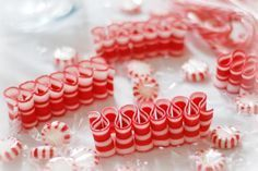 Ribbon candy is an old-fashioned favorite. This hard candy recipe is a traditional pulled candy that can be colored and flavored in any way you like.