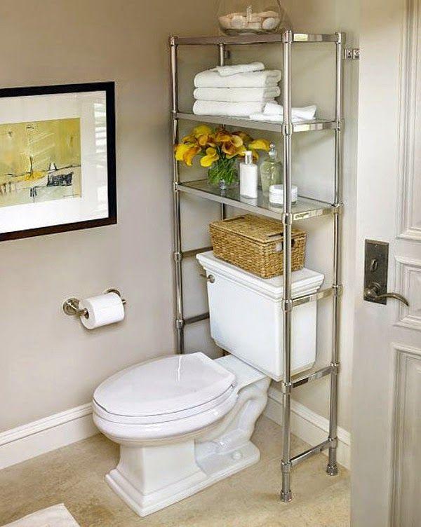 Small&LowCost: Ideas prácticas para organizar el cuarto de baño