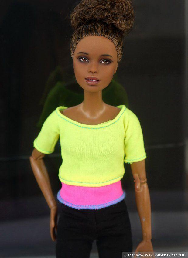 Ооак Барби-йоги Аша от Светы Матвеевой / ООАК игровых кукол / Шопик. Продать купить куклу / Бэйбики. Куклы фото. Одежда для кукол