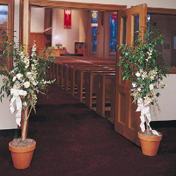 29 best church decorations wedding images on pinterest church wedding florals decorations for the church junglespirit Choice Image