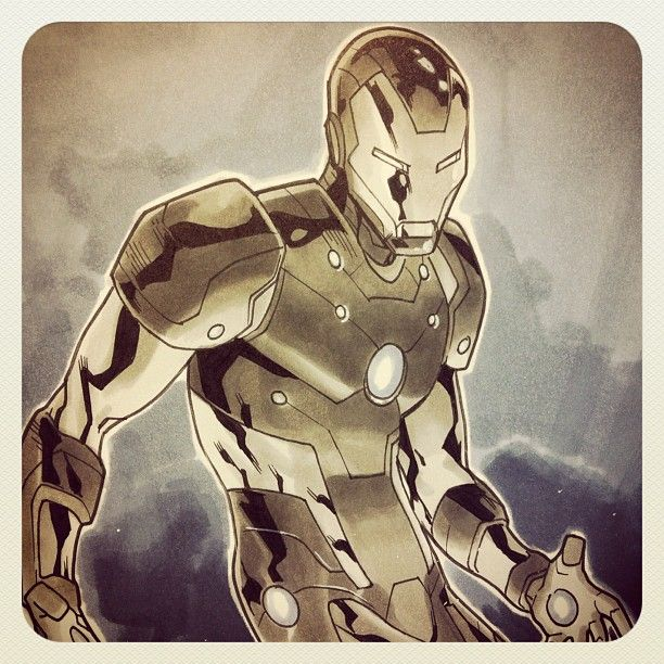 .@mahmudasrar | Never Mind #ironman #iron #man #marvel #comics #art #illustration #copic #arm... | Webstagram - the best Instagram viewer