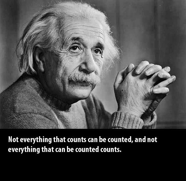 One more from the smartest man alive - another near and dear to my heart!