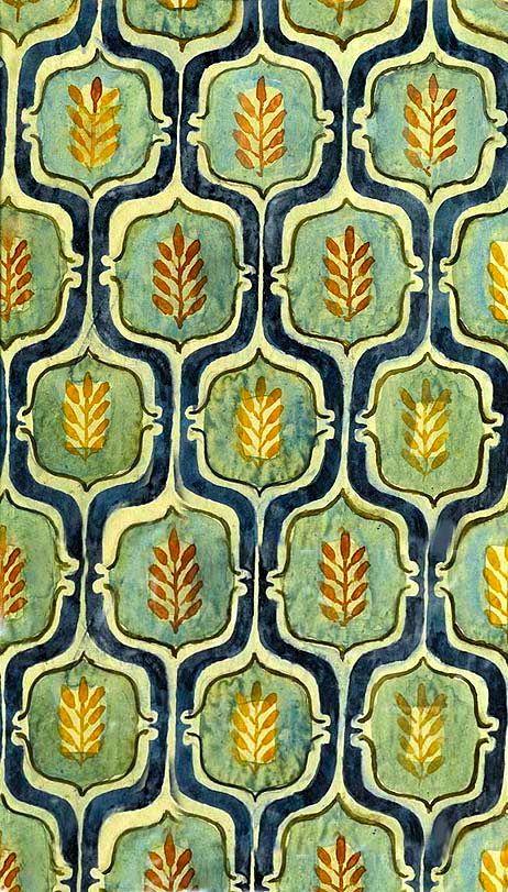 Textile Design, ca. 1938, Elisabeth Vellacott