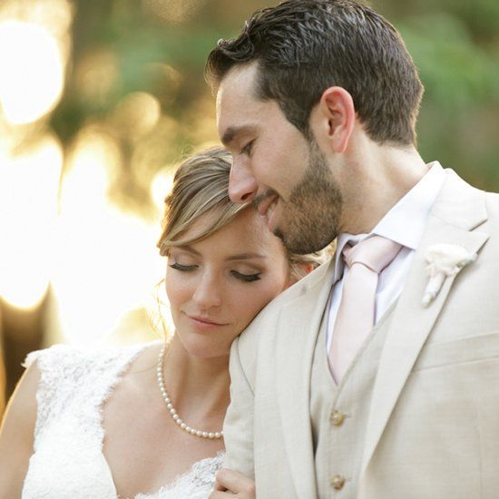 Rustic Farm Wedding. Sweet and adorable couple exchange vows on family farm.