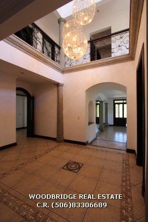CR Santa Ana casa lujo alquiler $5.000 en Parque Valle Del Sol contactenos Woodbridge bienes raices CR mobile (506)83306689